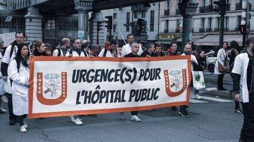 Hôpital public, forte journée de mobilisation en vue
