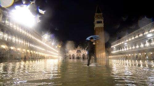 Venise, joyau classé au patrimoine mondial, menacée par une nouvelle alerte météo