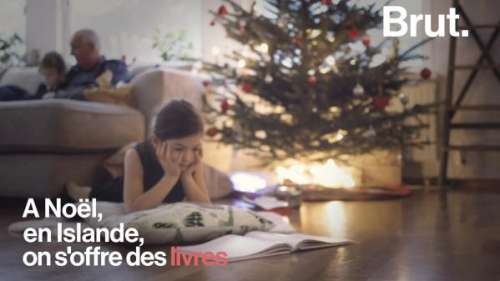 VIDEO. Le soir de Noël en Islande, on lit plein de livres