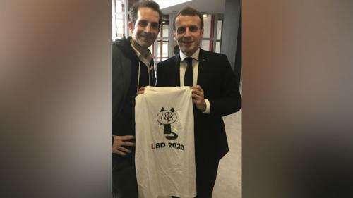 VIDEO. Angoulême : le dessinateur Jul s'étonne de la commercialisation de son tee-shirt dénonçant les tirs de LBD