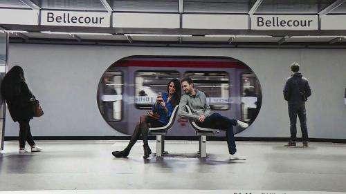 Les photos en réalité augmentée de François Sola animent le métro de Lyon