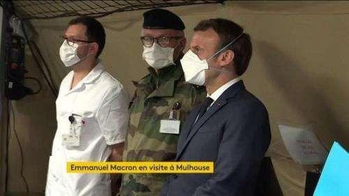 DIRECT. Coronavirus : Emmanuel Macron est arrivé à Mulhouse, où il s'exprimera à 20 heures