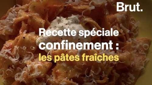 VIDEO. Pâtes fraîches, stracciatella et sauce tomate, une recette facile et éco-responsable