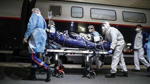 DIRECT. Coronavirus: un TGV médicalisé transporte 24malades de Paris vers la Bretagne