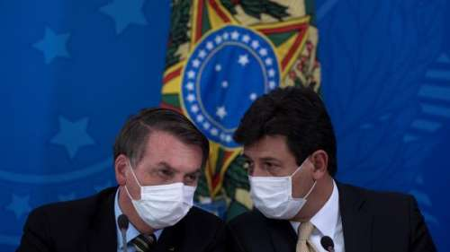 Au Brésil, en pleine épidémie de coronavirus, Bolsonaro débarque son ministre de la Santé