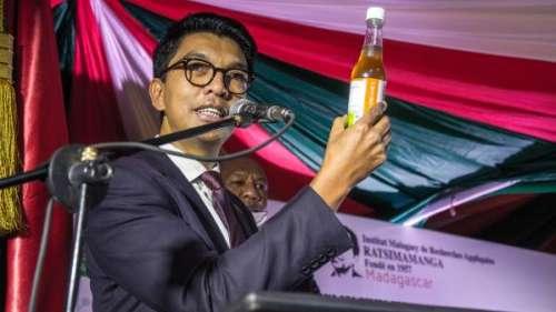 À Madagascar, le président conseille un remède miracle contre le coronavirus