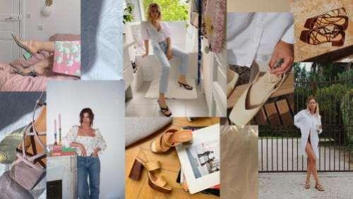 Confinement oblige, la marque de chaussures Jonak réactualise son image en proposant à cinq jeunes femmes de photographier la collection d'été chez elles