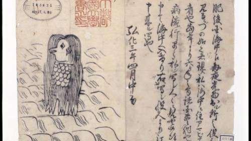 Coronavirus : au Japon, Amabie, une créature légendaire censée protéger contre les épidémies, sort de l'oubli