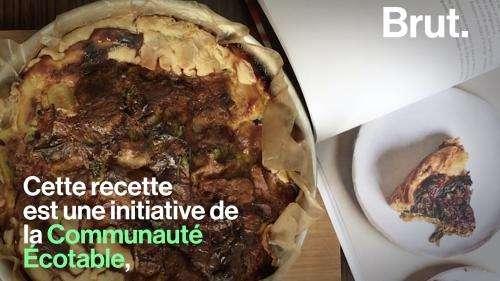 VIDEO. Des restes, des herbes aromatiques, de la pâte… La recette de la quiche