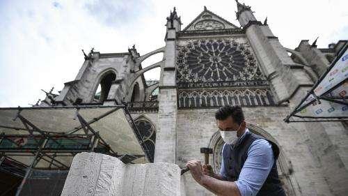 Basilique de Saint-Denis : des ateliers participatifs depuis le 5 juin, avant le remontage de la flèche