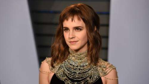 L'actrice Emma Watson,