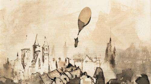 Un dessin inédit de Victor Hugo vendu plus de 37.000 euros, soit le double de son estimation