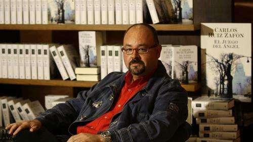 L'écrivain espagnol Carlos Ruiz Zafon, auteur de