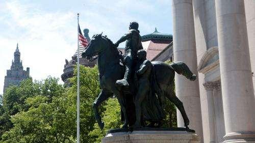 New York va retirer une statue de Theodore Roosevelt qui