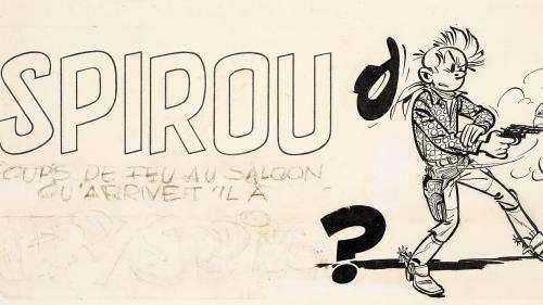Des originaux de Hergé, Franquin, Uderzo, Morris et autres stars de la BD proposés aux enchères samedi