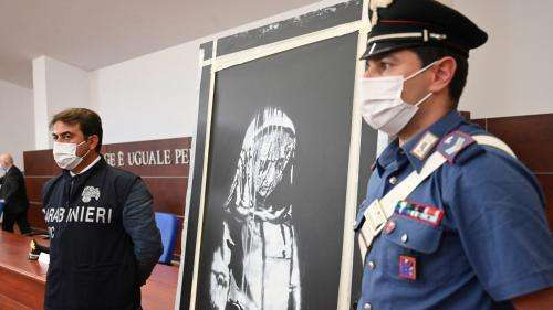 Vol d'une œuvre attribuée à Banksy au Bataclan à Paris : six personnes placées en détention provisoire