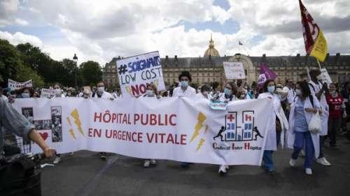 Hôpital : le personnel dans la rue pour réclamer