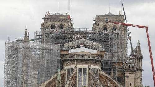 VIDEO. À 50 mètres de haut avec les funambules de la cathédrale Notre-Dame de Paris