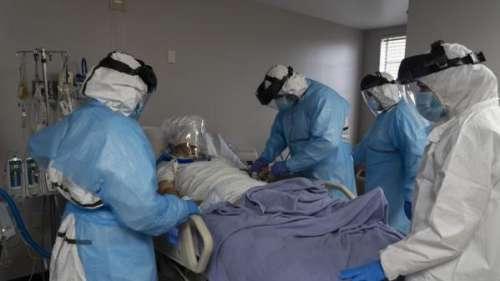 Coronavirus : plus lourd bilan journalier depuis mi-mai aux Etats-Unis avec près de 1 600 morts en 24 heures