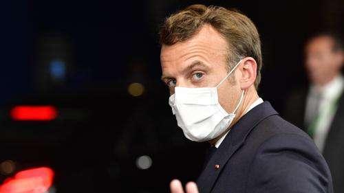 Coronavirus : Emmanuel Macron rend visite aux auxiliaires de vie
