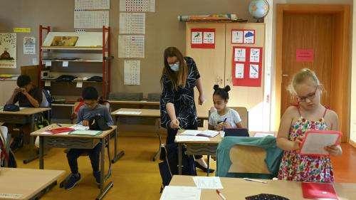 Assouplissement du protocole sanitaire dans les écoles :