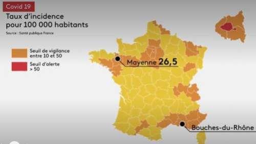 Coronavirus en France: des chiffres qui inquiètent