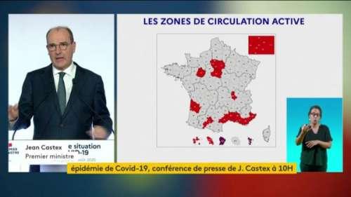 VIDEO. Coronavirus : 21 départements sont désormais classés en