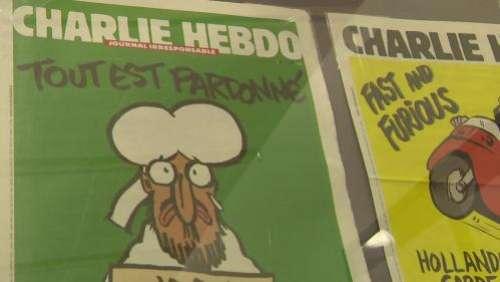 Le salon de la caricature de Saint-Just-le-Martel rend hommage aux dessinateurs de Charlie Hebdo :