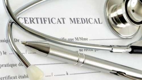 Coronavirus : les médecins n'ont pas à établir de certificat médical de