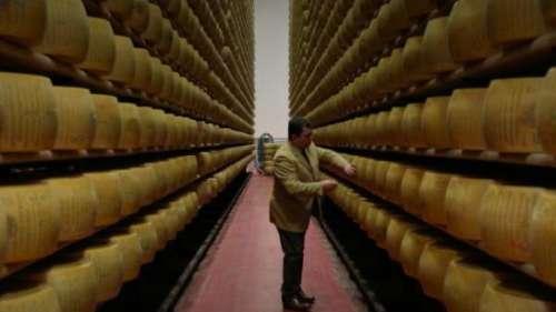 Italie : quand les parmesans haut de gamme sont conservés au coffre-fort