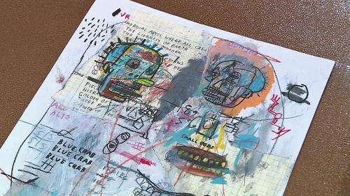 Jean-Michel Basquiat : 35 dessins originaux rarement montrés exposés à Nuits-Saint-Georges