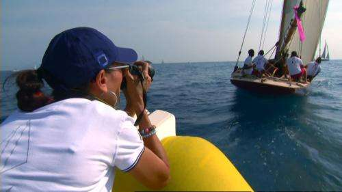 Rencontre avec les photographes des Voiles d'Antibes