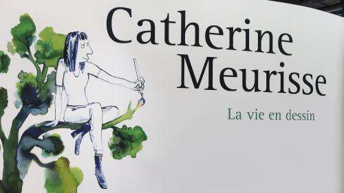 Catherine Meurisse partage sa vie en dessin et sa quête de la beauté dans une exposition au Centre Pompidou