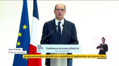 VIDEO. Covid-19 : Jean Castex précise les exceptions au couvre-feu