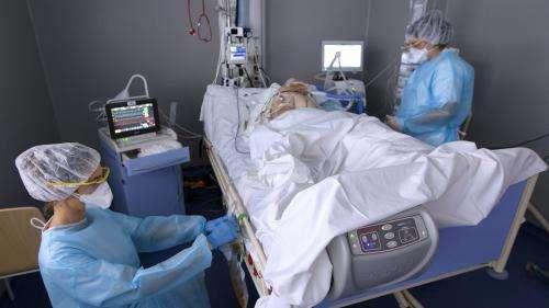 Coronavirus :l'hôpital de Roubaixsature