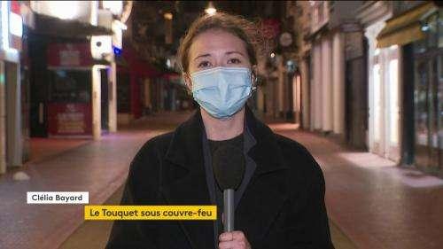 Coronavirus : première soirée sous couvre-feu pour le Touquet