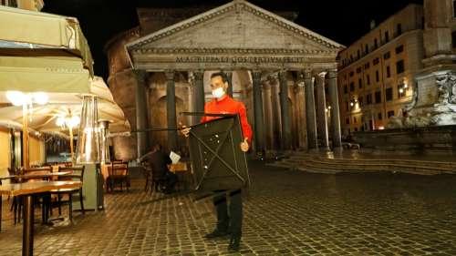 DIRECT. Covid-19 : l'Italie durcit ses restrictions et ferme les bars et restaurants à partir de 18 heures