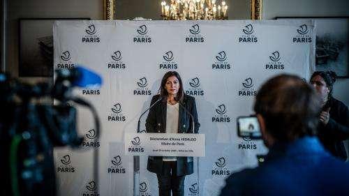 La maire de Paris Anne Hidalgo annonce une