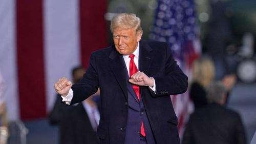 Donald Trump utilise le tube