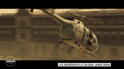 VIDEO. James Bond : secrets de tournage de la bagarre dans l'hélicoptère du film