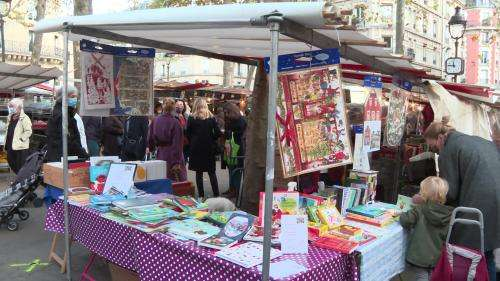 Des librairies éphémères sur les marchés de Paris pour promouvoir les dispositifs de commandes de livres