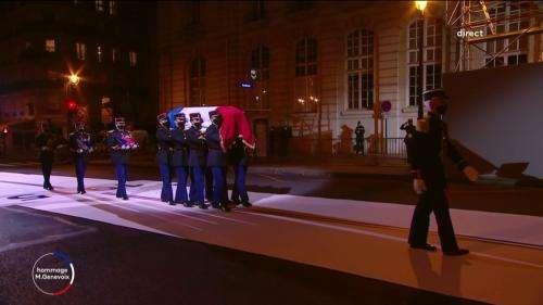 REPLAY. 11-Novembre : revivez la cérémonie d'entrée au Panthéon de l'écrivain Maurice Genevoix