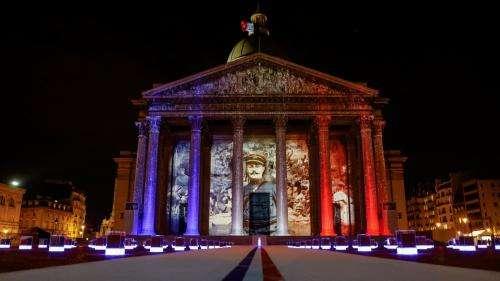 Entrée de Maurice Genevoix au Panthéon :