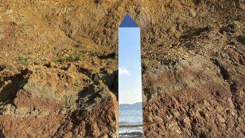 Après l'Utah et la Roumanie, un nouveau mystérieux monolithe aperçu sur une île britannique