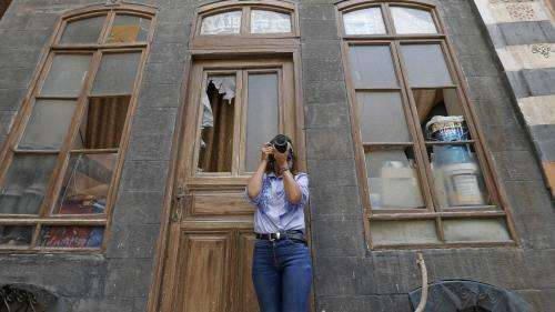 Rania Kataf capte en photo les quartiers historiques de Damas pour aider à préserver le patrimoine architectural