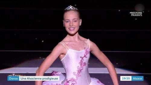 Juliette Baud, nouvelle prodige de danse classique, fait briller l'Alsace