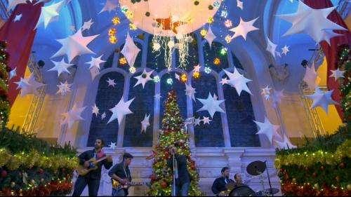 À Dunkerque, le groupe The Grogs ravive la magie de Noël avec son clip