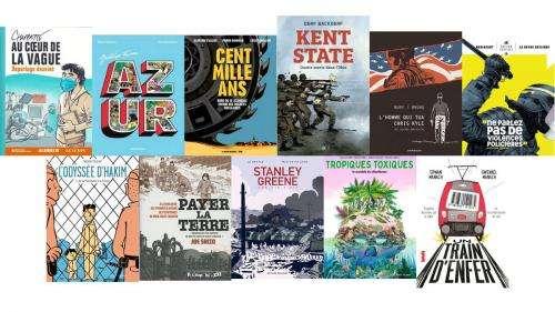 BD, bande dessinée. 27e Prix franceinfo de la bande dessinée d'actualité et de reportage : la sélection