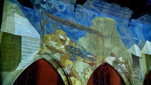 À Rouen, les fresques de Giotto mettent en lumière les murs de l'église Saint-Godard