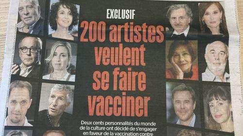 Covid-19: 200 artistes dont Arielle Dombasle et Daniel Auteuil s'engagent à se faire vacciner